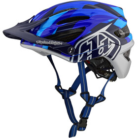 Troy Lee Designs A2 MIPS casco per bici blu/nero